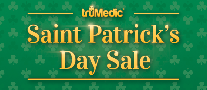 Saint Patrick's Day Sale by truMedic