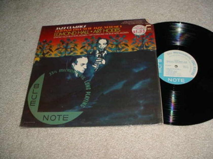 EDMOND HALL ART HODES -  LP RECORD  BLUE NOTE JAZZMEN