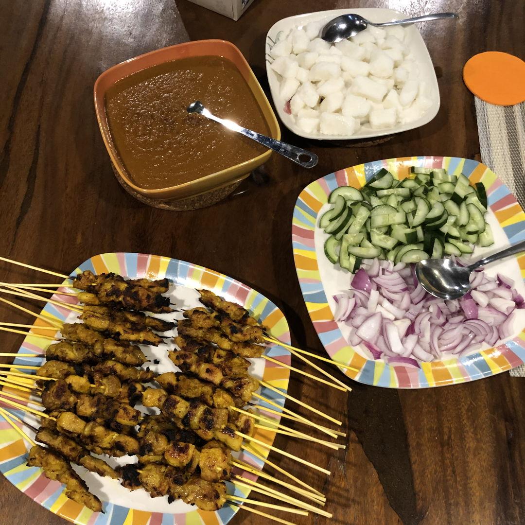 Malaysian Style Chicken Satay