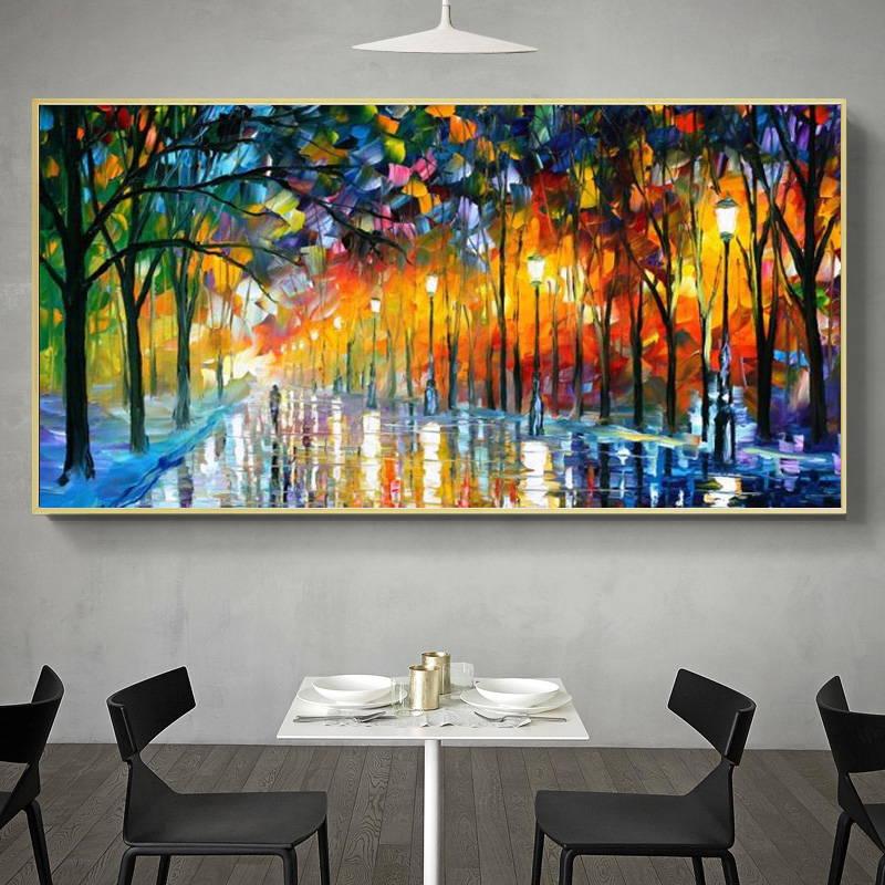 Tableau Street Art couleur