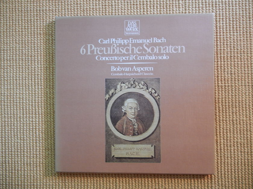 Bach, Emanuel - 6 PreuBische Sonaten Telefunken (2 LPs)