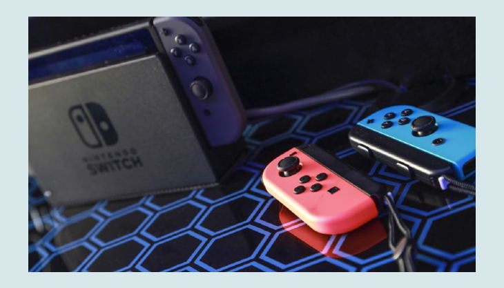 gaming party bus nintendo switch