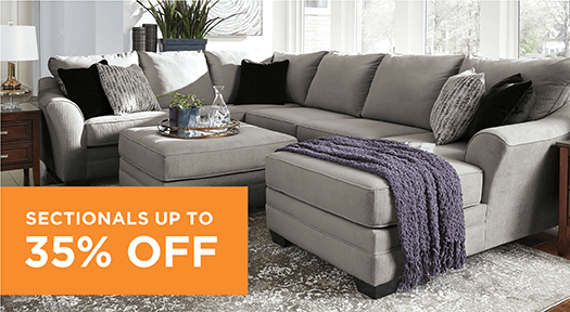 Sectionals up to 35% Off