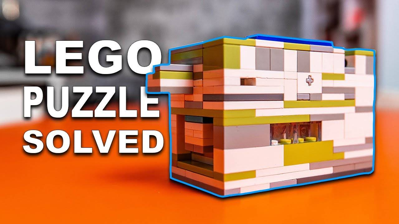 LEGO helps solve puzzles