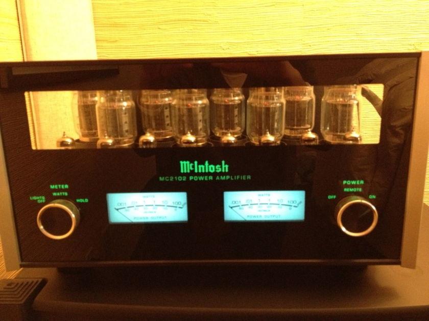 McIntosh MC2102 100 Wpc KT-88 Tube Amplifier