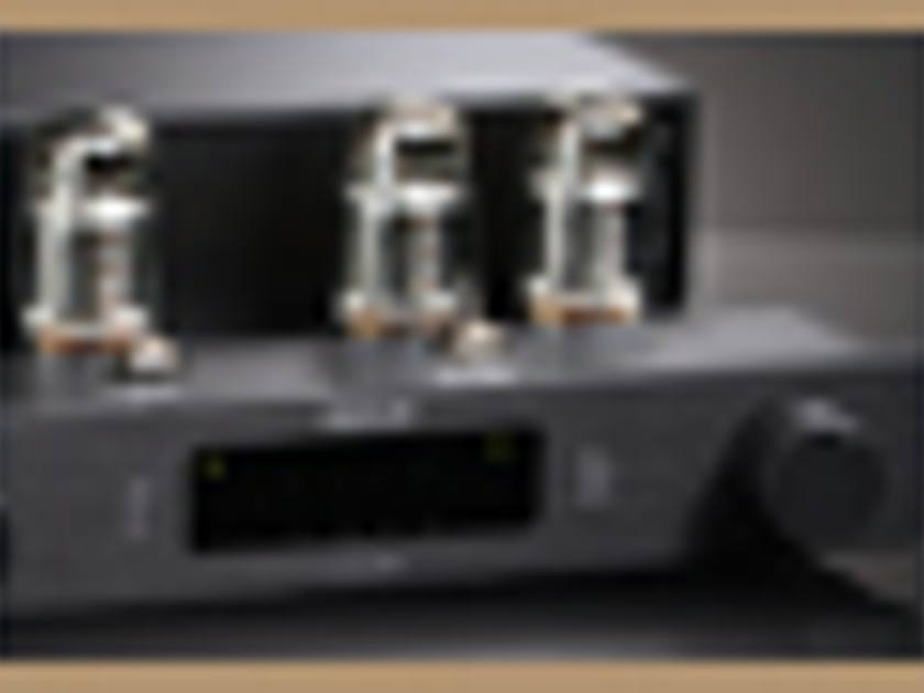 OCTAVE AUDIO V40SE INTEGRATED AMPLIFIER BLACK COLOR WITH BLACK BOX POWER SUPPLY
