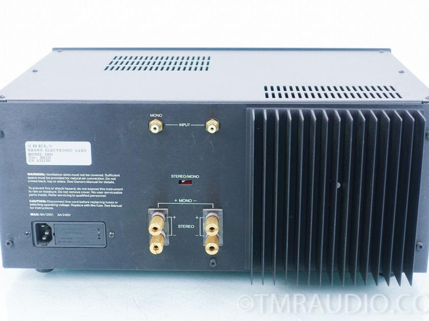 BEL  1001 mk iii Stereo Amplifier (8530)