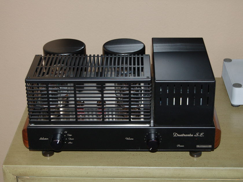 Mastersound Duetrenta S.E.  Parallel Single Ended Integrated Amplifier with remote control