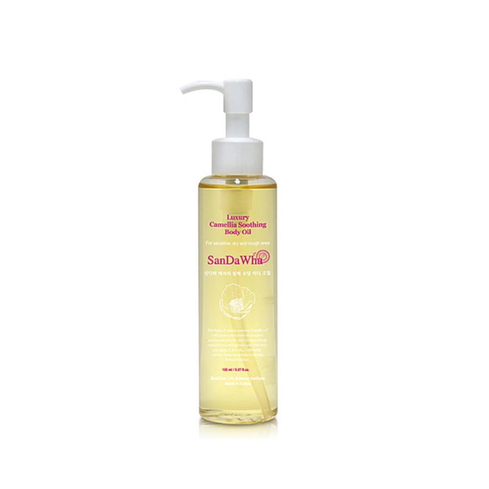 Korean Camellia Soothing Body Oil
