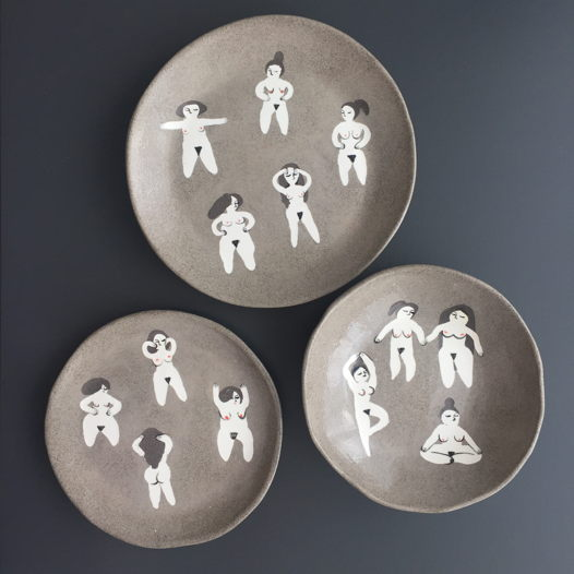 Набор тарелок BODYPOSITIVE