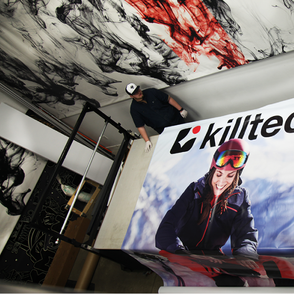 Custom Banner - Killtech Banner - Ink Monstr Custom Banner
