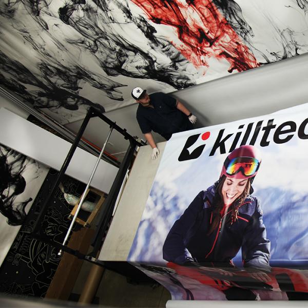 Custom Banner - Killtech Banner - Ink Monstr Custom Banner