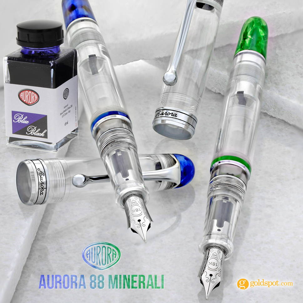 Free bottle of Aurora ink with the purchase of select Aurora pens