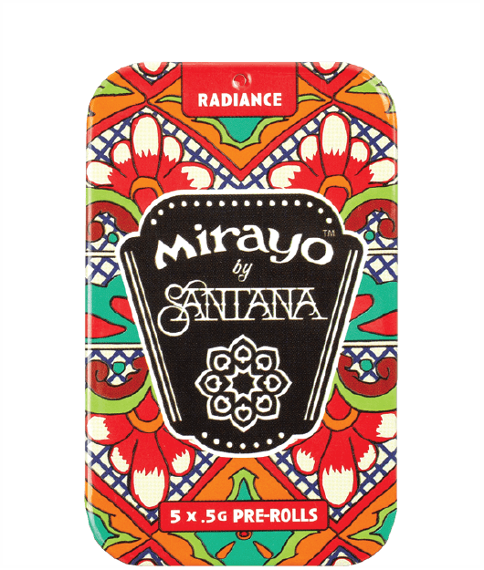 image of Mirayo sativa cannabis tin