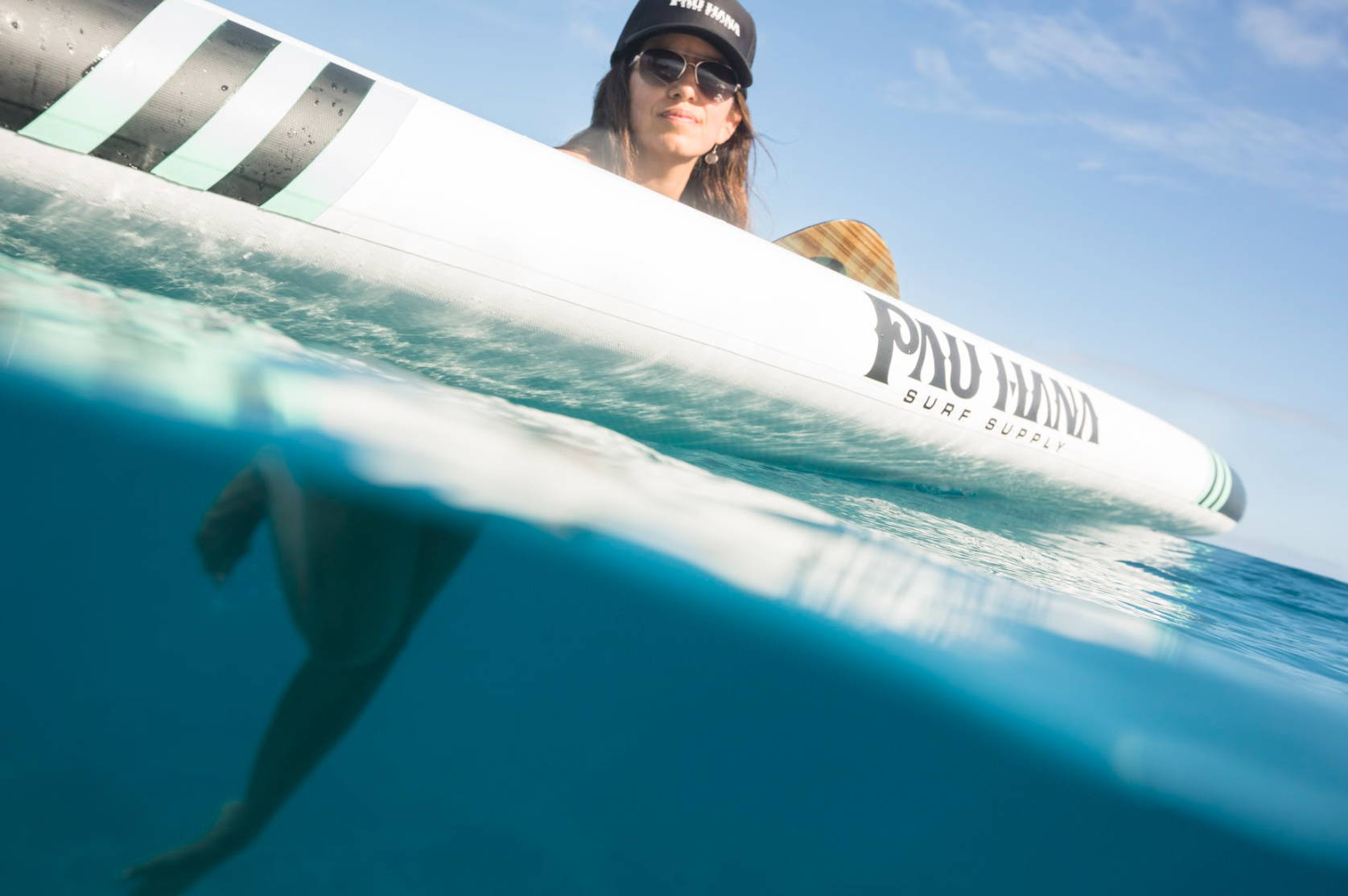 This is the best isup inflatable paddle board from Pau Hana.