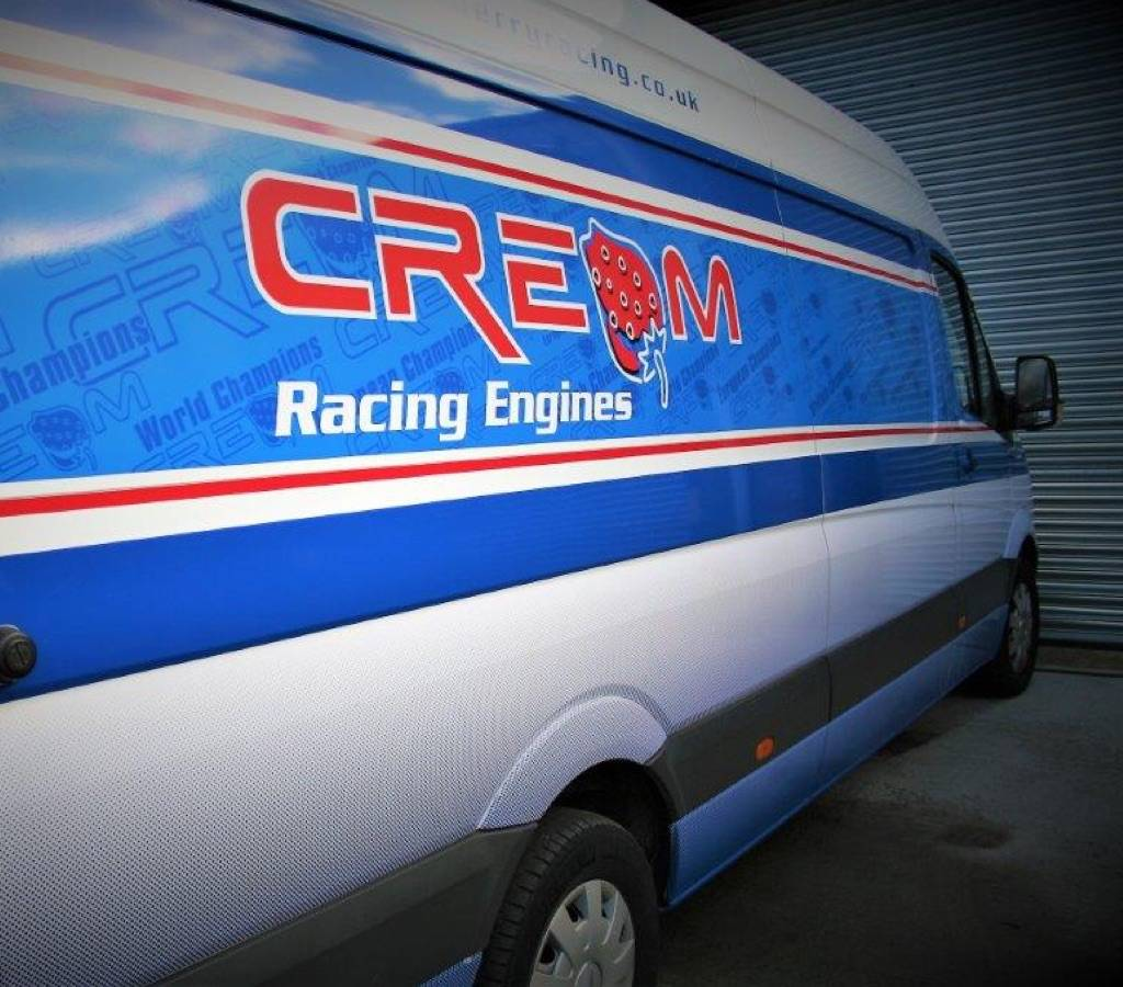 Cream Racing Engines