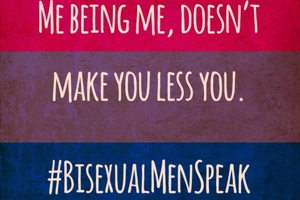 #BisexualMenSpeak Encourages Us to Listen to Bi Men
