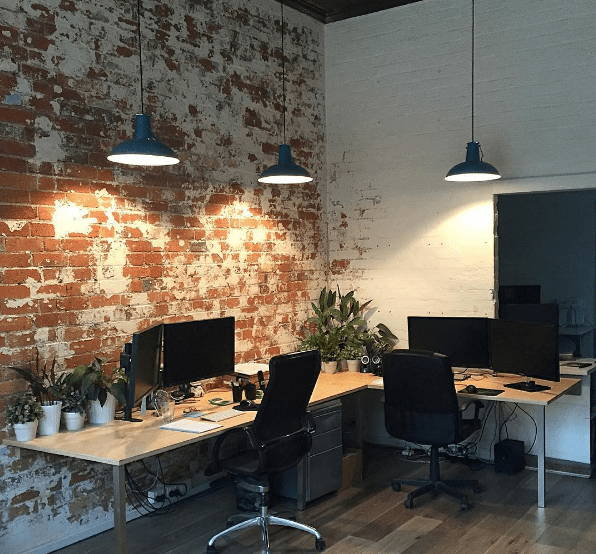 Sydney plywood office interior
