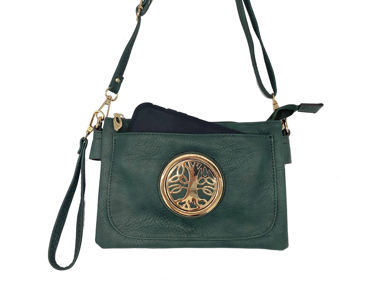 The Celtic Bag Co. Small Triple Zip