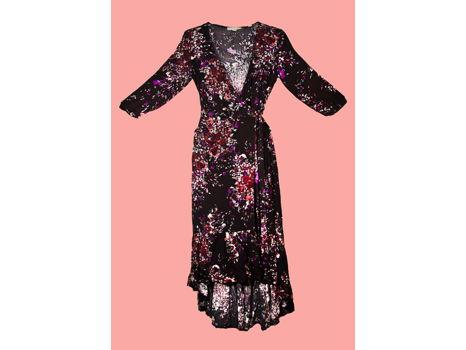 Monet Wrap dress from Marilyn's Cat Walk in Truckee