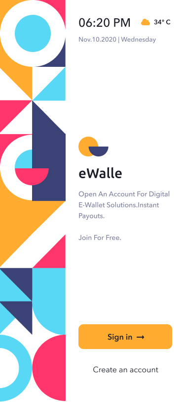 eWalle interface 8