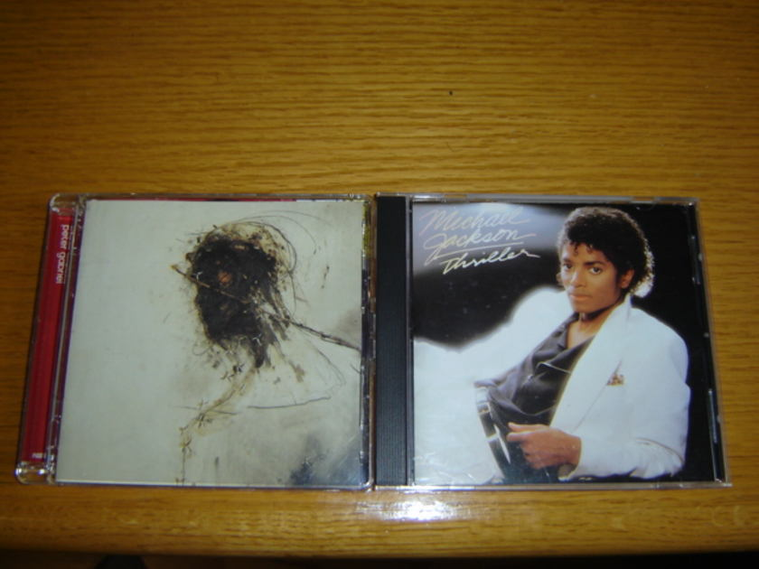 Michael Jackson / Peter Gabriel - Triller / Passion SACD Titles