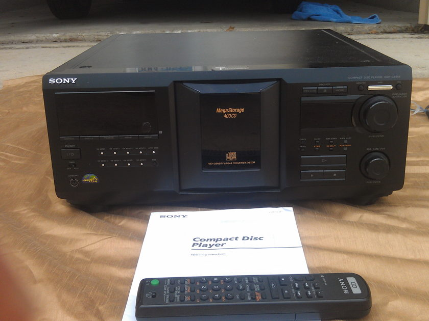 Sony CDP-CX455 Compact Disc Player