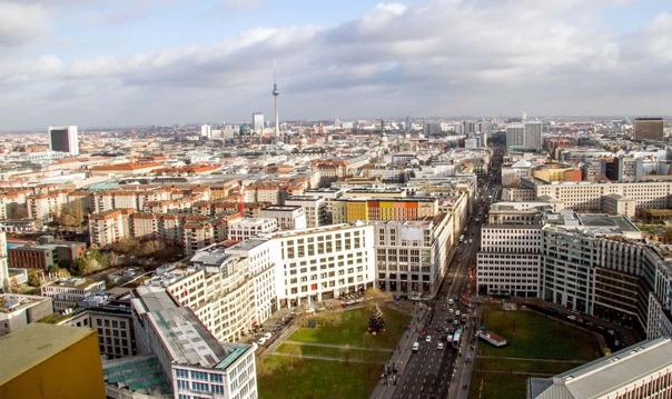 Берлин: билет на площадку Panoramapunkt без очереди на лифт