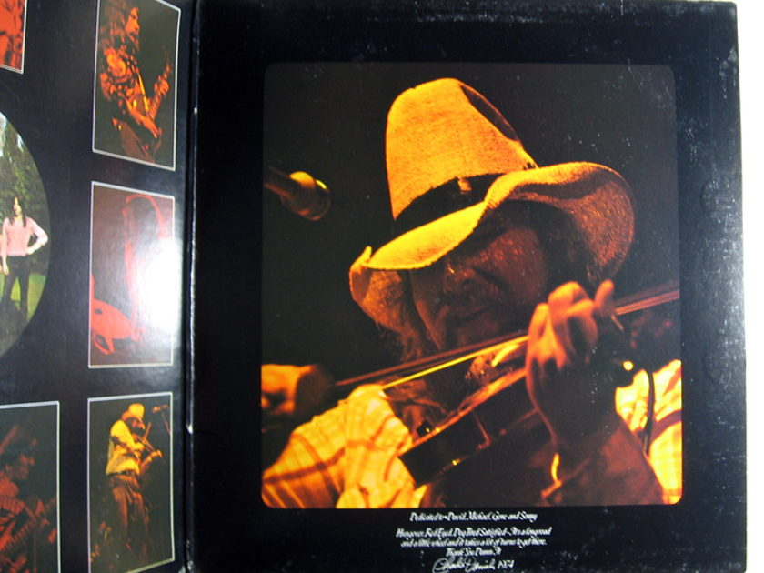 The Charlie Daniels Band - Fire On The Mountain - 1979 Epic PE 34365