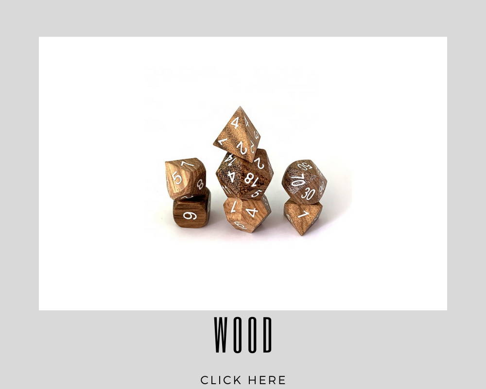 Corporate Wood Custom Dice