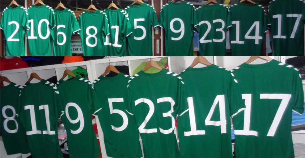 Sportbekleidung bedrucken oder besticken- Mit Ihrem Logo