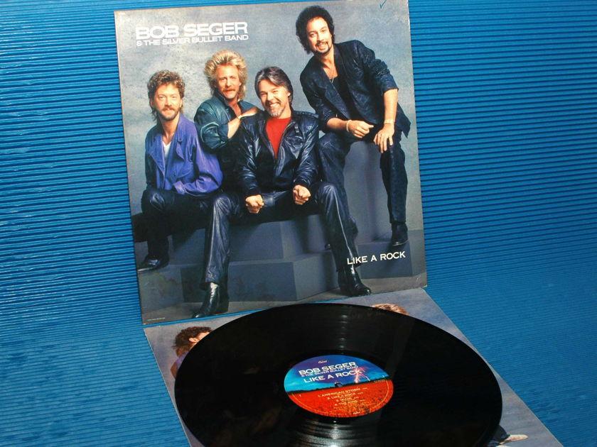 "BOB SEGER & THE SILVER BULLET BAND - - ""Like A Rock"" -  Capital 1986"