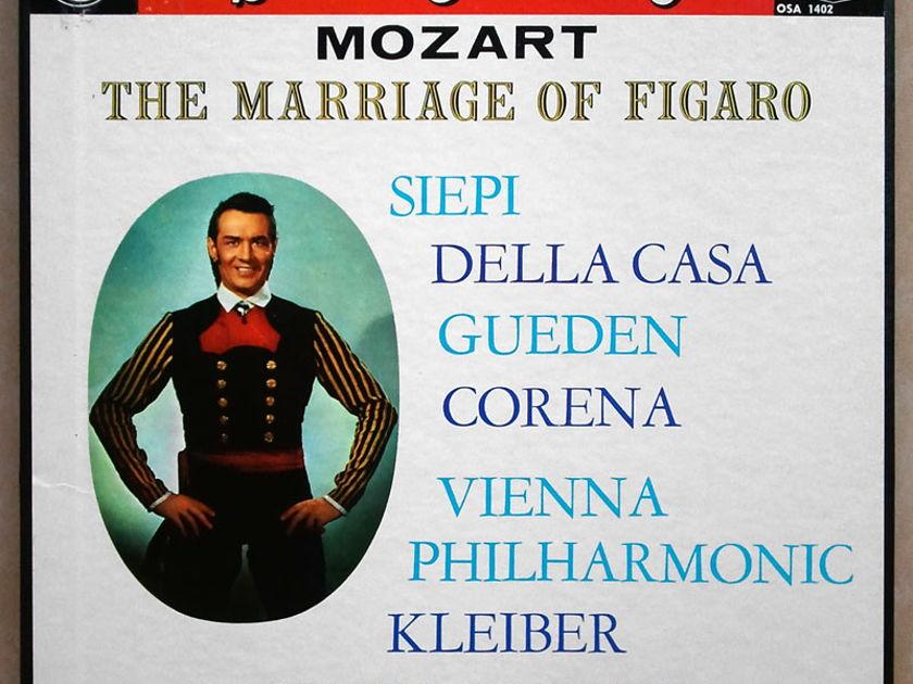 London ffrr/Kleiber/Mozart - Le nozze di Figaro (The Marriage of Figaro) / 4-LP box set / NM