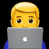 Man technologist apple
