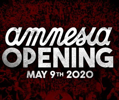 Opening party Amnesia 2020, Ibiza opening