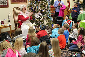Image for Check out Mrs. Claus' Favorite Holiday Books