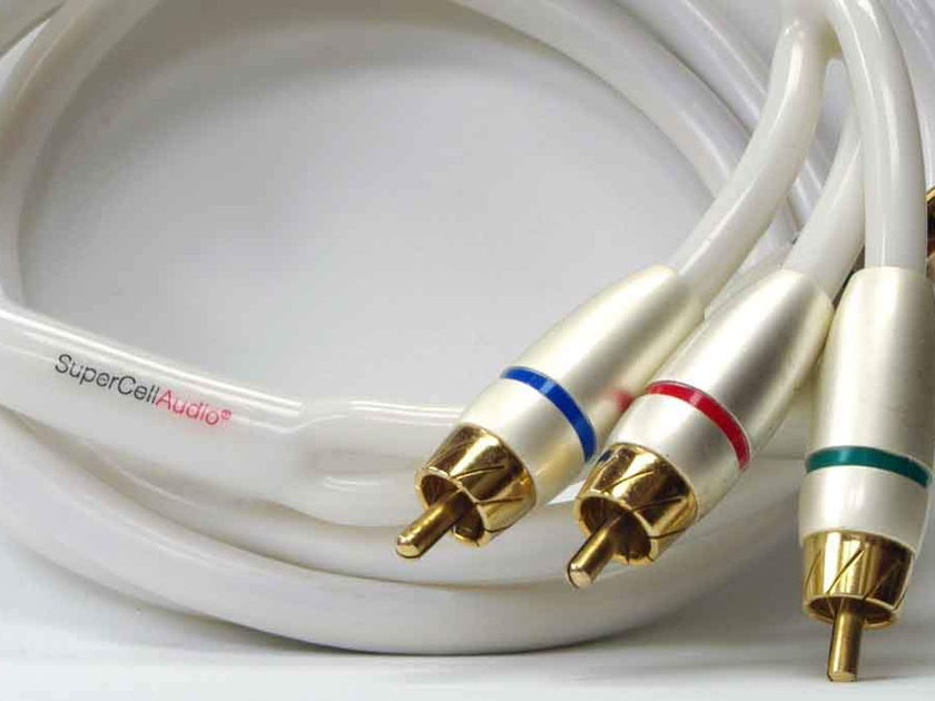 Component Cable 1.5 m / 5 ft VS15 SuperCellAudio