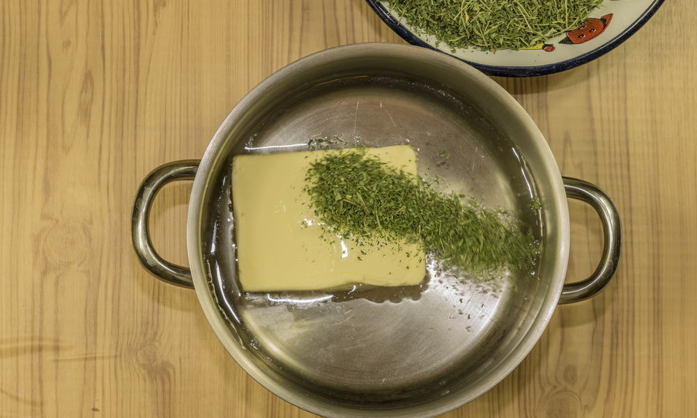 Guide for how to make your own cannabis butter