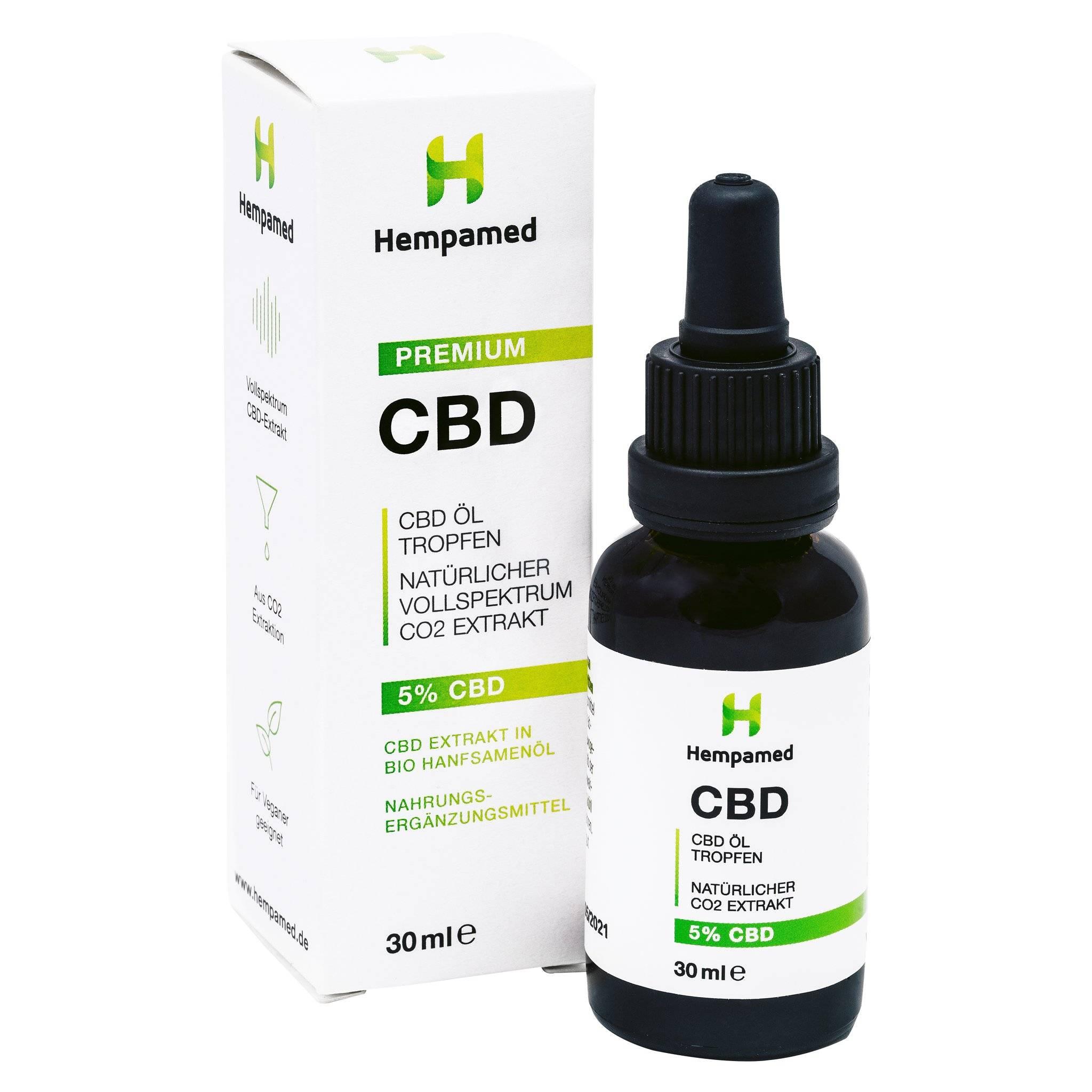 Hempamed Premium CBD Öl 5%