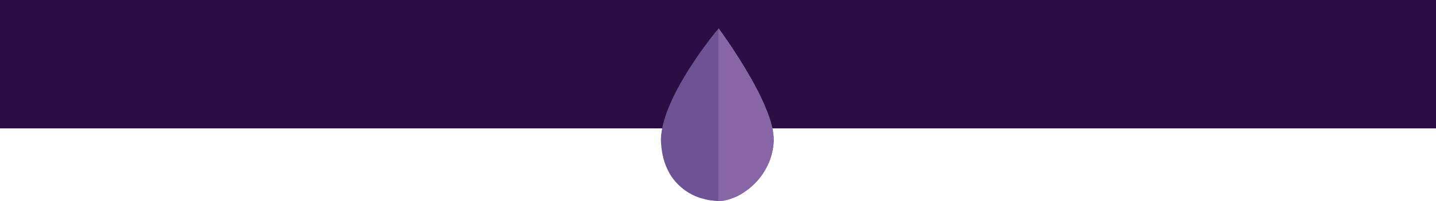 purple wax drop icon