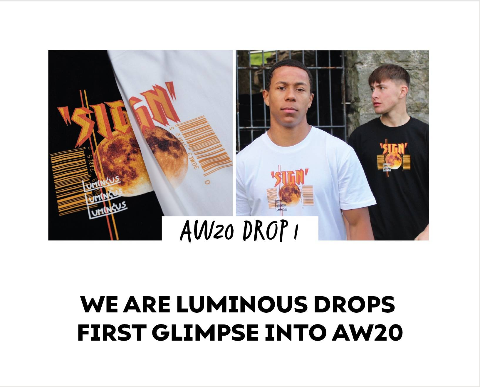 We Are Luminous London Drops First Glimpse Into AW20