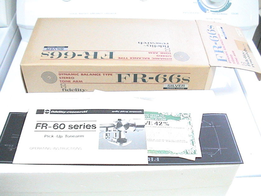 Fidelity Research FR-66S NEW