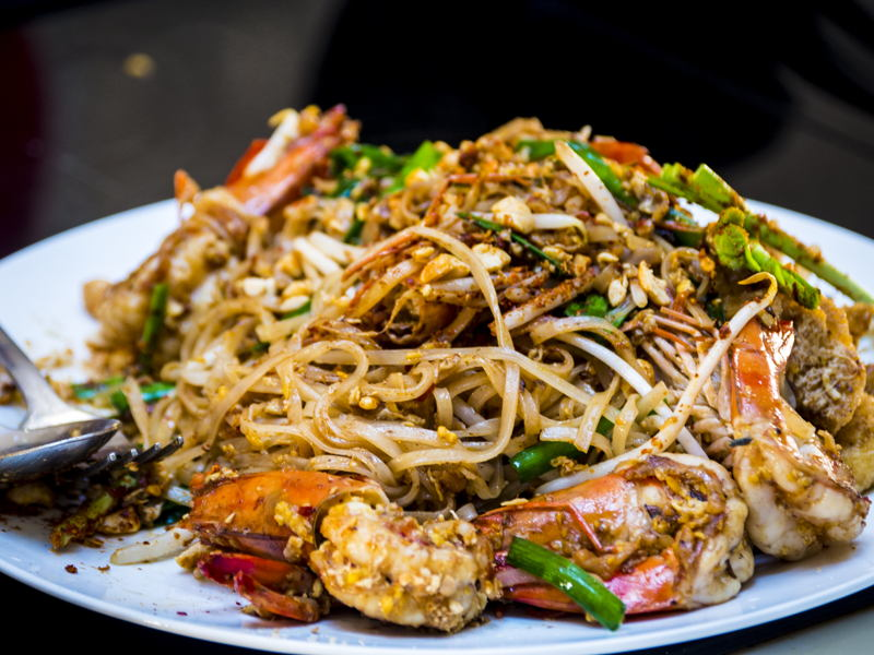 Prawn Pad Thai Recipe How To Make Prawn Pad Thai