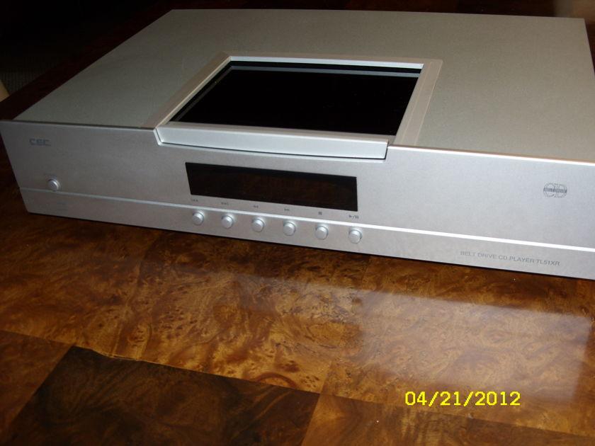 C.E.C. TL51XR Belt drive CD Player TL51XR C.E.C. TL51XR Belt drive CD Player