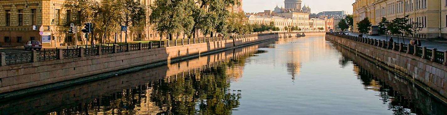Индивидуальная экскурсия по рекам и каналам Петербурга