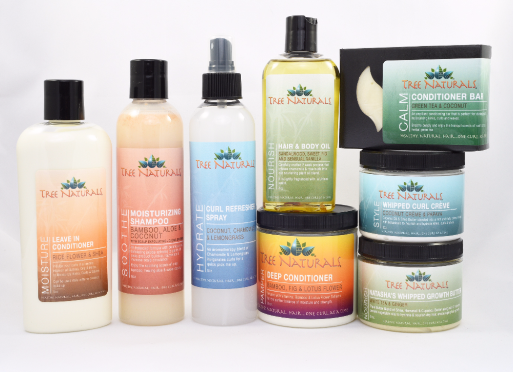 product junkie set for natural hair