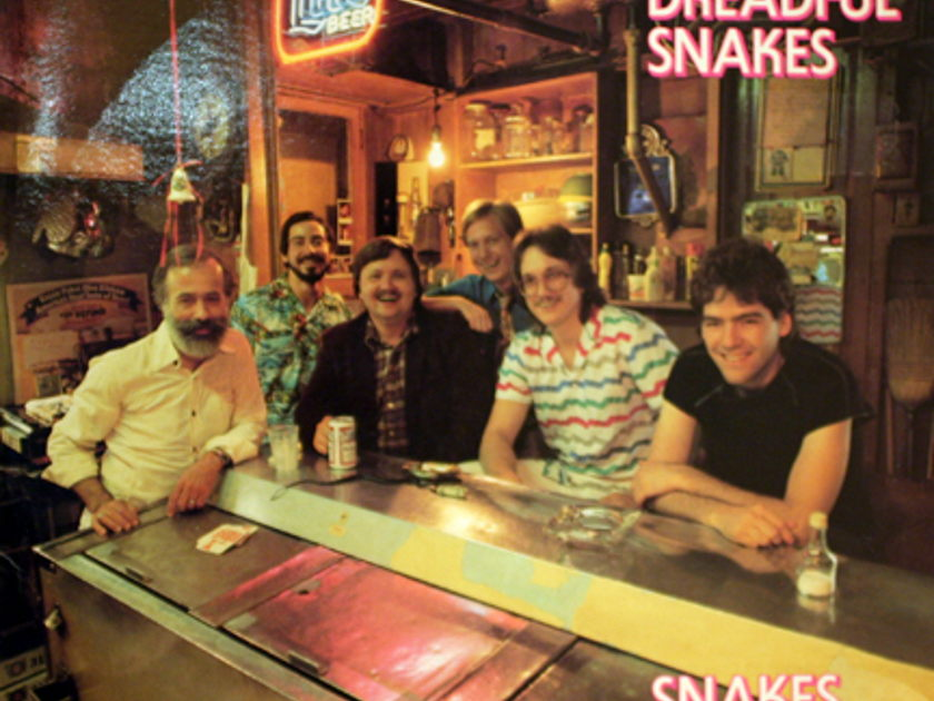 The Dreadful Snakes: - Snakes Alive--- Hgh Energy Bluegrass