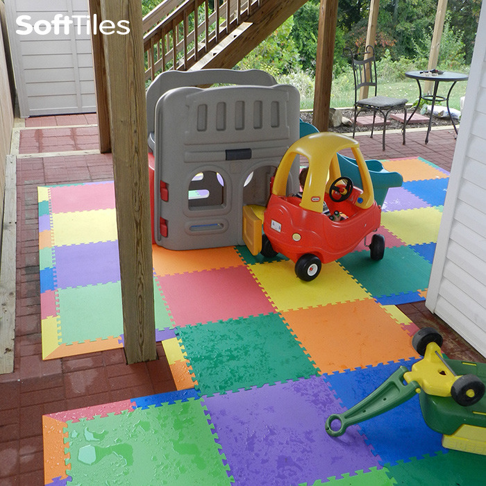 92 Outdoor Foam Mats For Kids Safety Playground