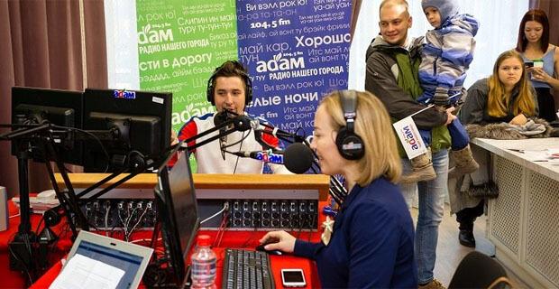 Радио «Адам» в Ижевске проводит прямые эфиры в небе и на земле - Новости радио OnAir.ru