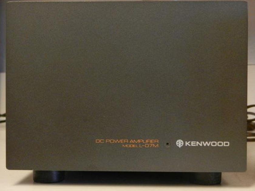 Kenwood L-O7M Monoblock Amplifiers (2)
